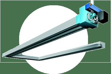 Ikona slider - zářič