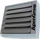 Teplovodní ohřívač vzduchu Aermax AX (designový kalorifer)