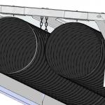 Nízkoteplotní infrazářič EUCERK - trubice
