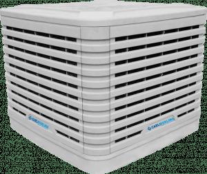 Adiabatické chlazení hal EUCOLD (evaporace)