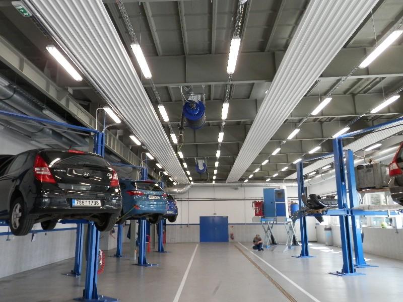 Reference Hyundai - sálavé panely Euterm