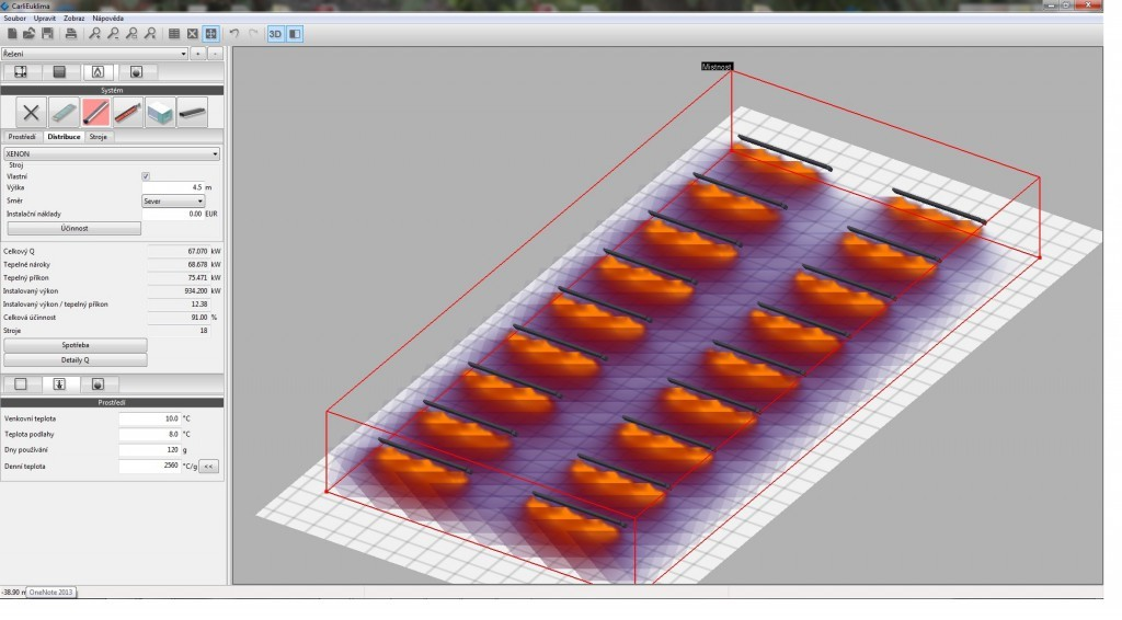Návrh, výpočet a projekce vytápění hal