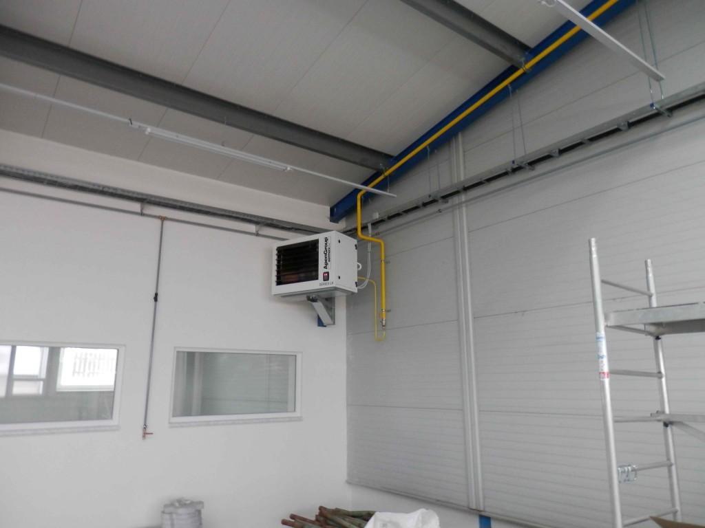Reference ROX - kondenzační ohřívač vzduchu