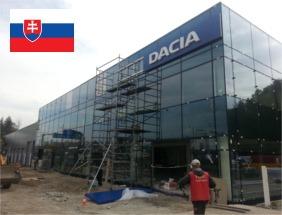Autoservis Dacia a.s. Žilina – kalorifery Kalormax