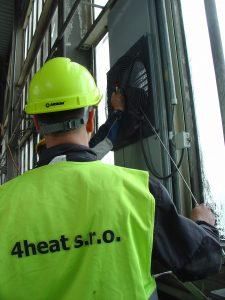 Servis plynových ohřívačů vzduchu a infrazářičů