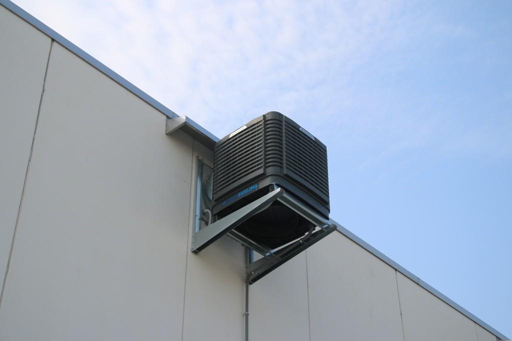 Chlazení hal (evaporace) EUCOLD - venkovní jednotka