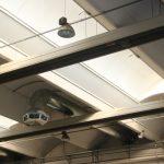 Chlazení hal (evaporace) EUCOLD - v hale