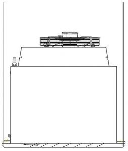 Podpěra pro zavěšení plynových ohřívačů vzduchu a kaloriferů