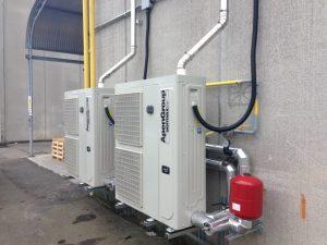Hybridní tepelné čerpadlo Aquapump s dohřevem