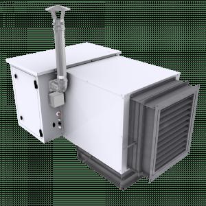 Plynový ohřívač vzduchu AERMAX pro venkovní instalaci