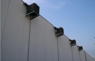 Adiabatická jednotka EUCOLD - článek, chlazení průmyslových objektů
