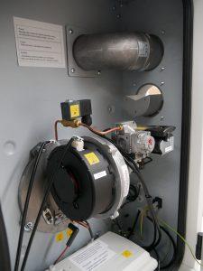 roční prohlídka plynových zařízení - ohřívač vzduchu