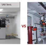 SAX Terris - srovnání s běžnou kotelnou