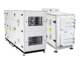 Kompaktní vzduchotechnické jednotky E-C/R