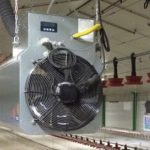 Agro plynový ohřívač vzduchu