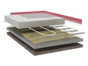 SPACE 20/25 velkoplošné podlahové vytápění pro haly