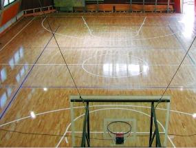 SPORTBODEN velkoplošné podlahové vytápění pro sportovní haly