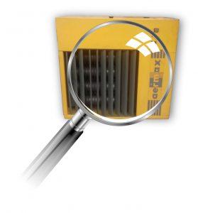 Plynový agregát Aermax AE - starý plynový ohrievač vzduchu