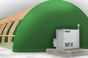 AH Sport - vytápění nafukovací haly