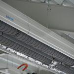 Reference vytápění haly - nízkoteplotní zářič Eucerk