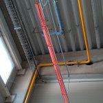 Euwarm - sálavé topení v hale